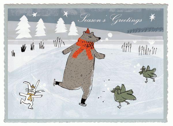 Season's Greetings by Philippe de Kemmeter, via Behance