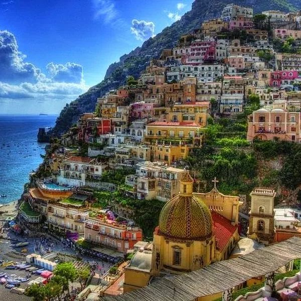 Позитано, Италия.