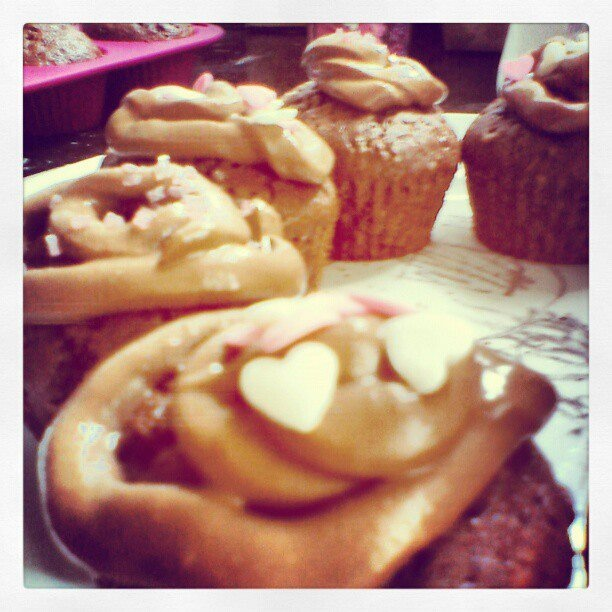 Homemade cupcakes!