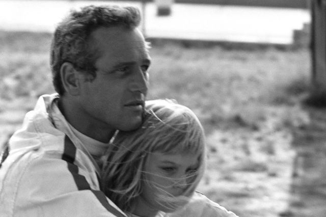 Paul Newman ~ The 42 Hunkiest Celebrity Dads of All Time  - ELLE.com