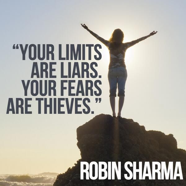 Twitter / _robin_sharma: Your limits are liars. Your ...