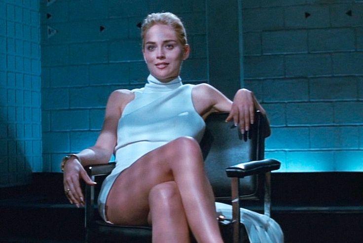 Le chignon glamour de Sharon Stone dans Basic Instinct