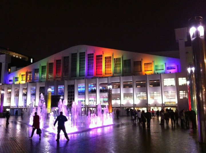 Wembley Arena in Wembley, Greater London