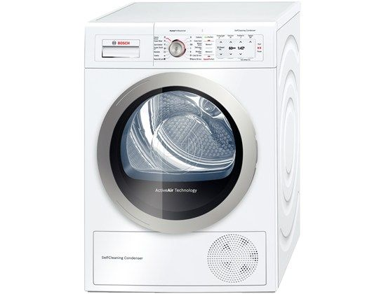 Bosch Professional Self Cleaning Condenser Tumble Dryer With Heat Pump.