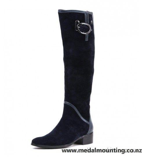 Cheap And Fine Django & Juliette Tamila Navy Womens Boots - Django & Juliette.CB82690