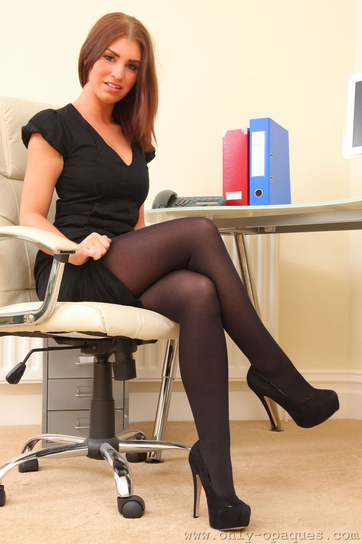 Tights and stray dogs things to wear pinterest secretary - Office girls in stockings ...