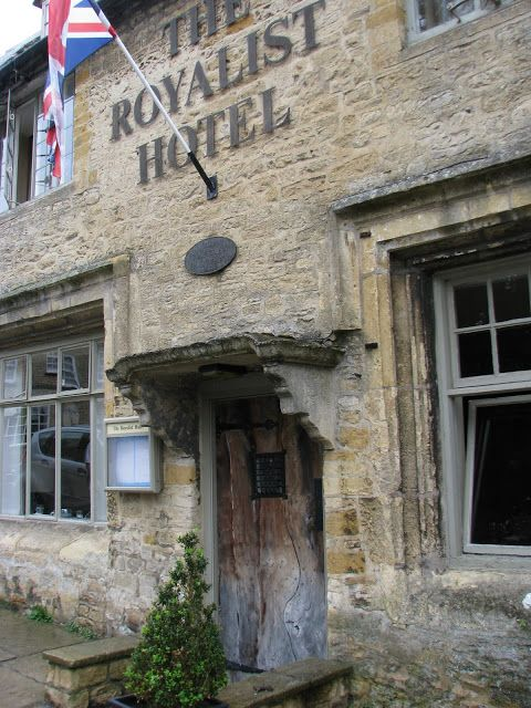 The Cotswolds {British Adventure}  We found ourselves first in Stow-on-the-Wold, a charming medieval market village with delightfully rustic stone buildings...  The Royalist Hotel is the oldest hotel in England, it dates from 947 AD!!