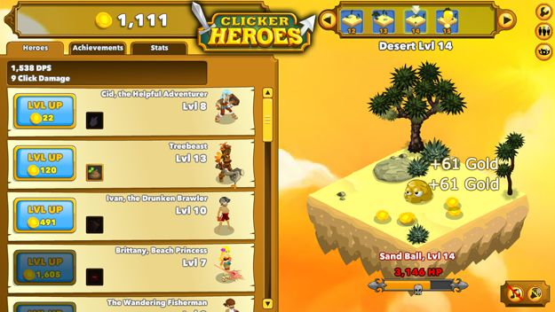 Clicker Heroes Hack generates unlimited gold, DPS and comes with auto clicker
