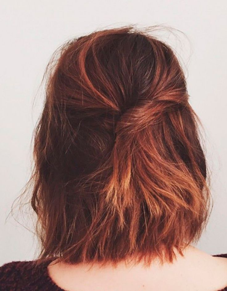 Hairstyle simple mid-length hair Simple hairstyle: 20 pretty ideas for f