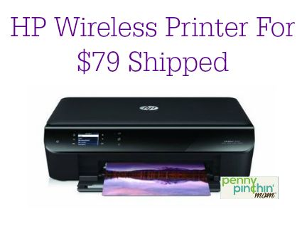 If you need a new wireless printer (so you can print your coupons), take a look at this HP Envy Wireless Printer/Scanner/Copier.  It is priced at $79 shipped right now at Amazon. ISO speed: Up to 8.8 ...
