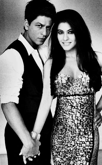 Shah Rukh Khan and Kajol... Favorite bollywood on-screen couple <3
