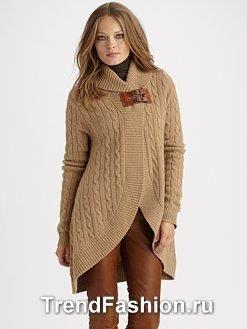 Стильная теплые свитера женские