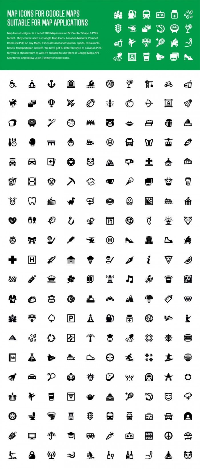 Map Icons Designer - Icons - Fribly