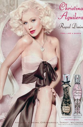 The Best Celebrity Perfumes: Christina Aguilera has 10 fragrances, including Red Sin and Royal Desire.