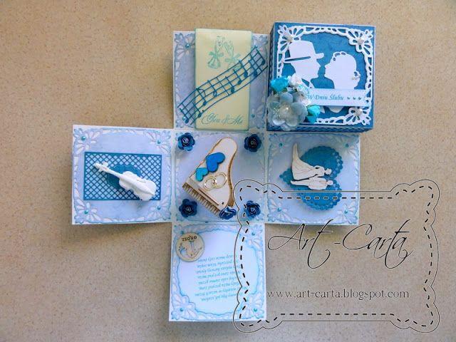Art-Carta : Muzyczny box ślubny