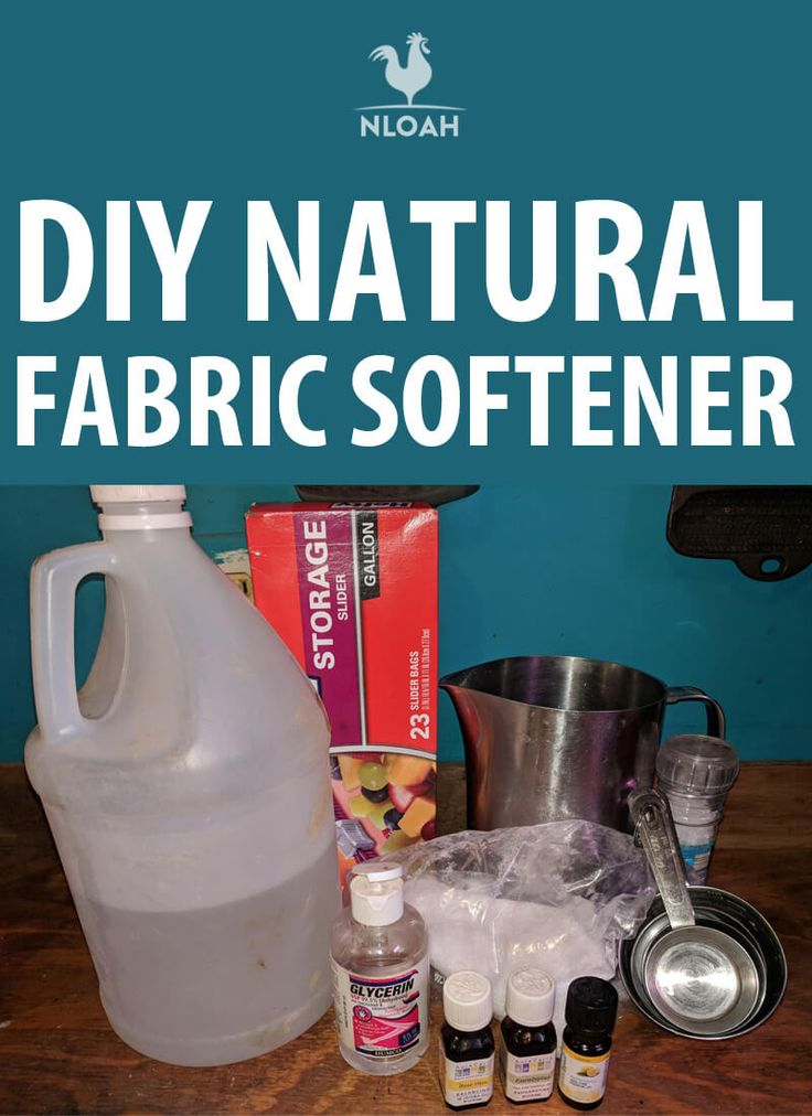 Diy natural fabric softener homemade fabric softener