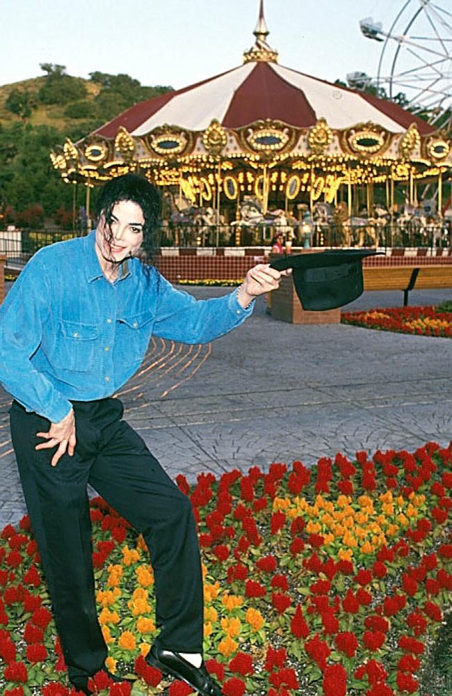 """'Because I wanted to have a place that I could create everything that I that I never had as a child. So, you see rides. You see animals. There's a movie theater."""" - Michael Jackson"""