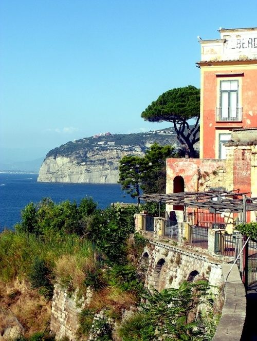   ♕   Cliff-top hotel - Sorrento, Italy   by © Rich MacDowell