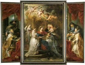Ildefonso Altar - Peter Paul Rubens