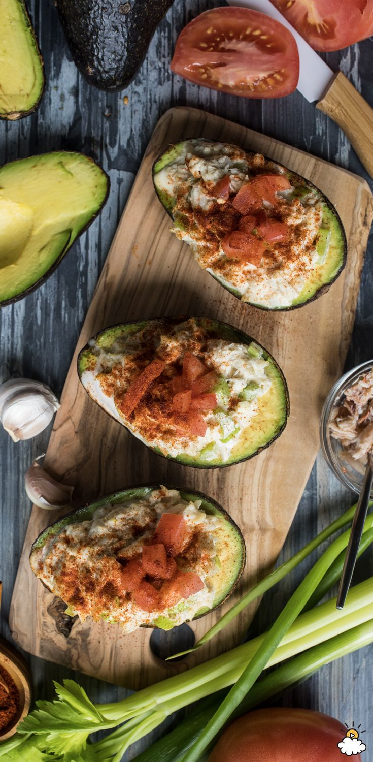 These crab-stuffed avocado bowls are an avocado lover's dream. This 15-minute recipe is both simple and delicious, and we know we're going to be making this crab-avocado combo all summer long.