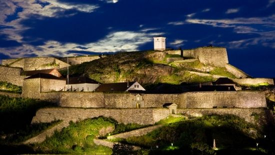 Fredriksten Fortress in my Halden. Photo by: Bård Halvorsen