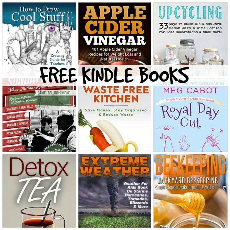 10 KINDLE FREEBIES: Extreme Weather! Weather For Kids, Waste Free Kitchen, + More!