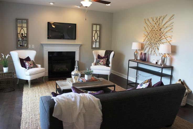 Essex Homes - Wakefield Model - Family Room - Sherwin ...