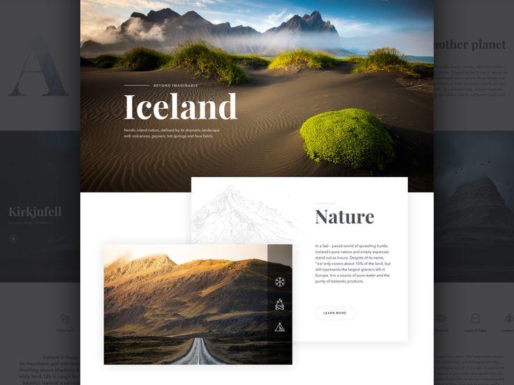 Fire & Ice Website by Marina Matijaca