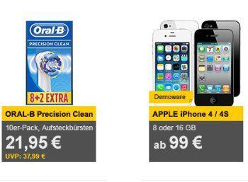 Allyouneed: Zehnerpack Oral-B Precision Clean Aufsteckbürsten für 21,95 Euro https://www.discountfan.de/artikel/technik_und_haushalt/allyouneed-zehnerpack-oral-b-precision-clean-aufsteckbuersten-fuer-21-95-euro.php Das Zehnerpack Oral-B Precision Clean Aufsteckbürsten ist jetzt bei Allyouneed zum Schnäppchenpreis von 21,95 Euro frei Haus zu haben – günstiger ist das sehr gut bewertete Markenset derzeit nirgends im Angebot. Allyouneed: Zehnerpack Oral-B Precision