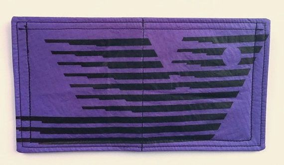 Cool Mens Wallet Recycled Paraglider Wallet Handmade by OffChutes