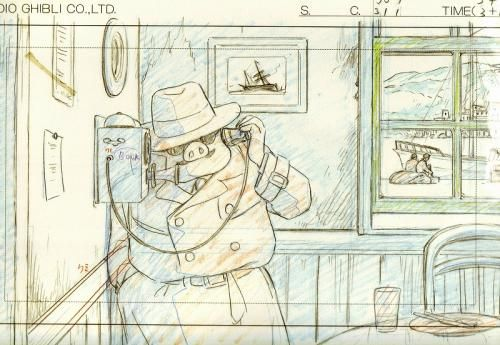 Porco Rosso - Studio Ghibli