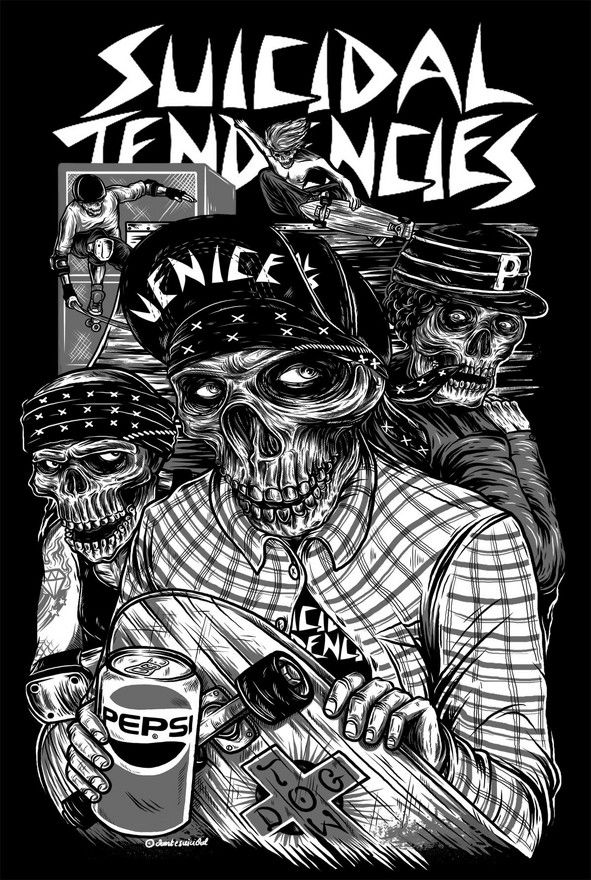 "suicidal tendencies ohhh good band ""All i wanted was a pepsi just one pepsi!"""