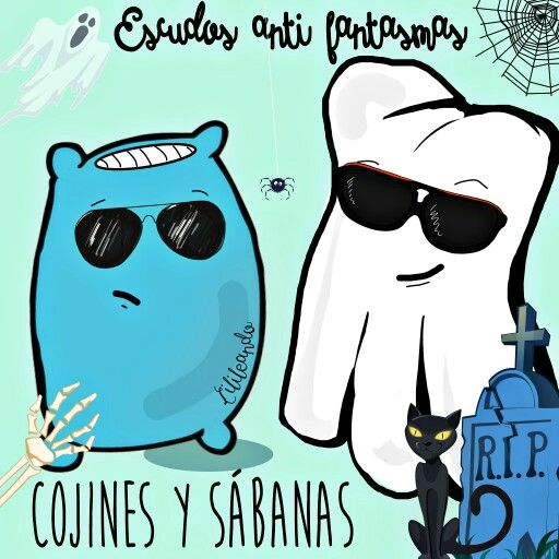 Escudos anti-fantasmas by Lilileando