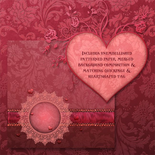 "Jaguarwoman's ""Sweetheart Valentine Papers 2012"