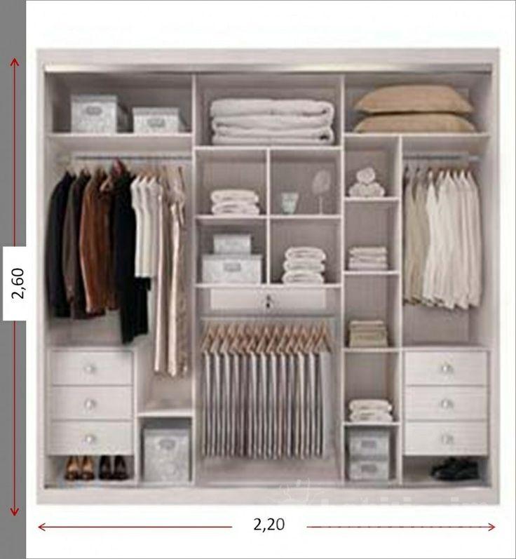 Divisão guarda-roupa