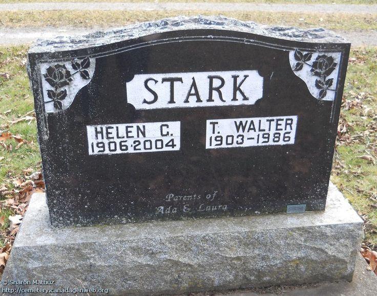 ON: Gore / Clanbrassil / Dufferin Cemetery (T. Walter STARK), CanadaGenWeb's…