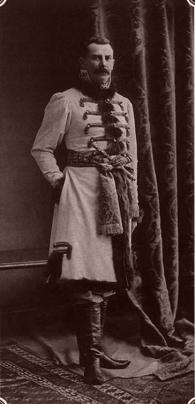 Prince Felix Youssoupoff Senior 1903 Winter Palace
