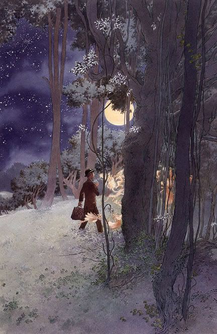 I believe that magic can strike anyone.   thefae: 2010 Charles Vess for N. Gaiman's Stardust: