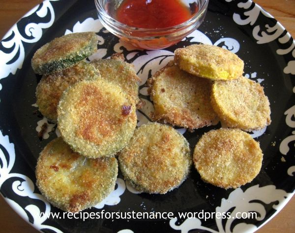 Oven Fried Squash