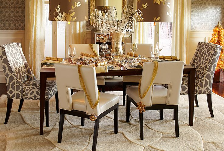 Dining Room Chairs Pier One Simple Decoration Swedish Christmas Decorations Table
