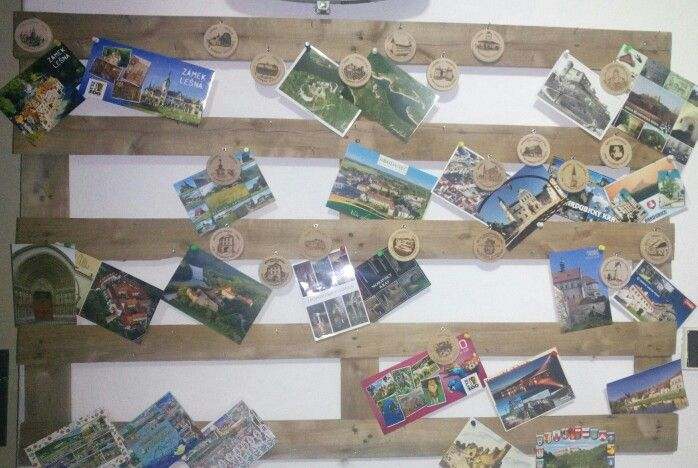 Nástěnka na turistické známky