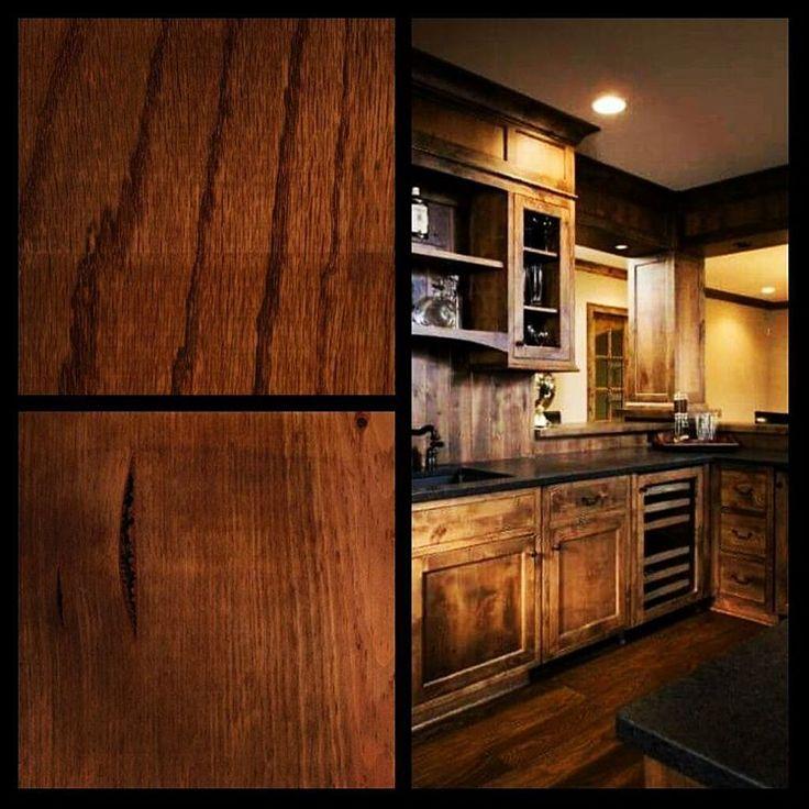 #wood #inspiration l La idea del cliente traducida en materiales para su cocina l