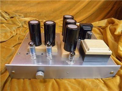 Kit Single Ended EL84 3 Watt Valve Amp, used, for sale, secondhand