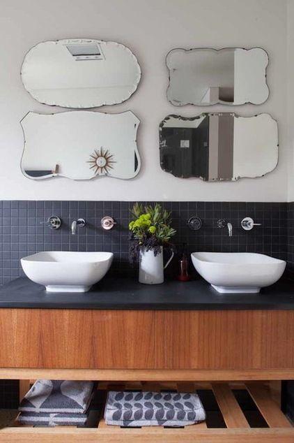 Les 9 meilleures images à propos de Deco 2 sur Pinterest Salles de - repeindre du carrelage de salle de bain