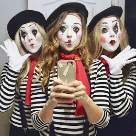 Renee Nicole l Lifestyle & Beauty: MIME HALLOWEEN COSTUME