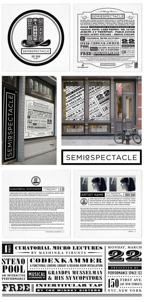 #houseofbranding   SemioSpectacle Branding