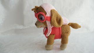 CANAL CROCHET: Patrulla canina amigurumi tutorial