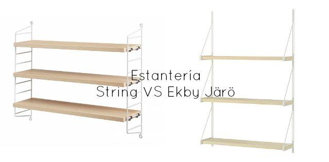 Estanter a spring vs ekby j r de ikea furniture - Estanteria de ikea ...