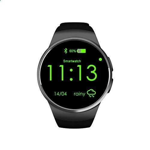 MP3 players for sports KING-WEAR KW18 Smart Watch Phone CPU MTK2502C Metal Plating OGS Capacitive Screen with Anodic Oxidation Treatment Wrist Watch ( Black) Main Features: -CPU MTK2502C, ROM128Mb   64Mb   32GB Max. TF card -Separated for watch case and watch bezel,but not one-off punching watch - One of the best MP3 players in the market. It is submersible up to two meters, is available in five colors.