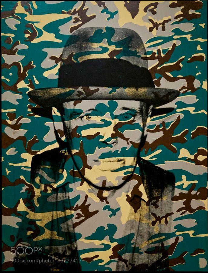 """""""Joseph Beuys [Camouflage]"""" Andy Warhol by alchemy_cinema. @go4fotos"""